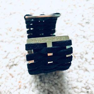 Limited Black Braided Cuff Bracelet